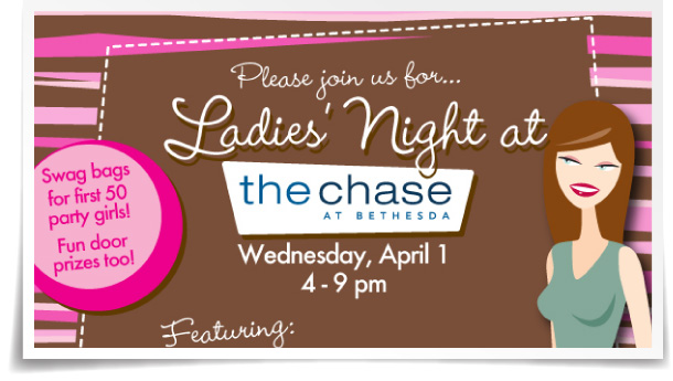 The Chase at Bethesda Ladies' Night eBlast