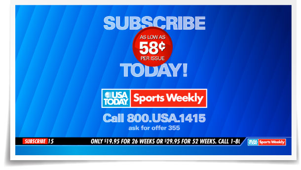 SPORTS WEEKLY 30-second commercial